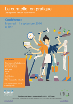 Conférence de Nant : La curatelle en pratique