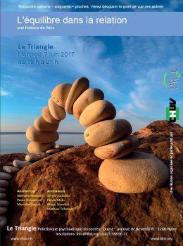 Triangle de Prangins: «L'équilibre dans la relation, une histoire de liens»
