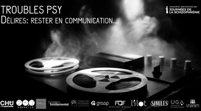 Webconférence – Troubles psy – «Délires: rester en communication…»
